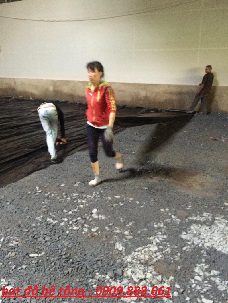 bạt đổ bê tông