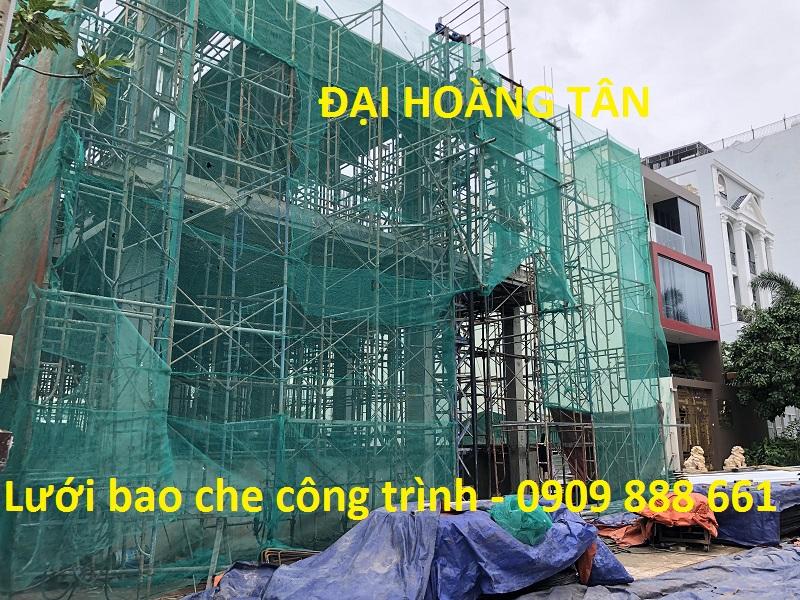 Lưới bao che công trình