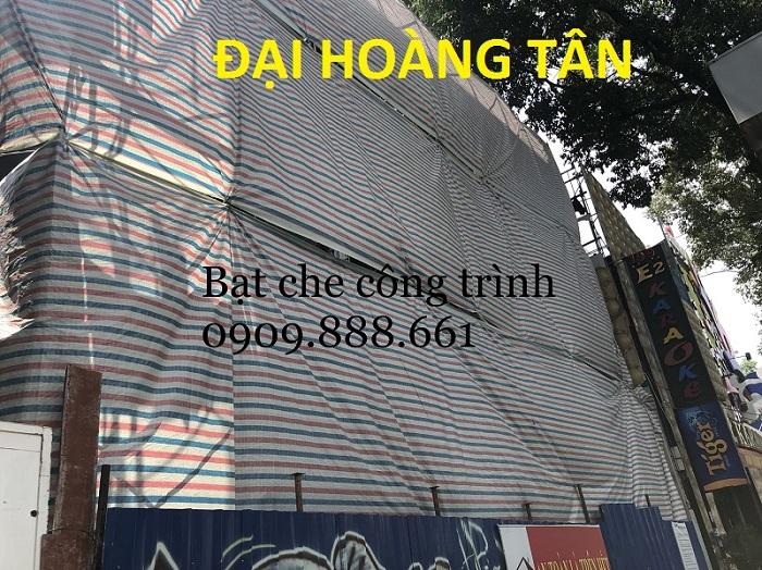 Bảng báo giá bạt che công trình
